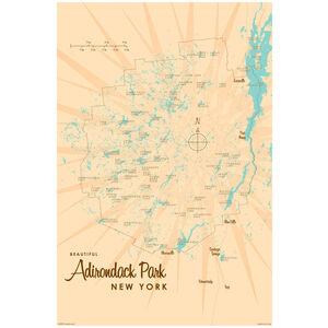 Adirondacks Map