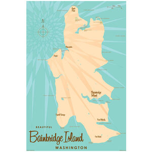 Bainbridge Island Washington Map