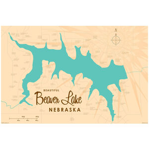 Beaver Lake Nebraska Map
