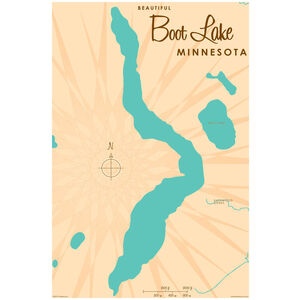 Boot Lake Minnesota Map