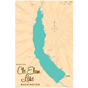 Cle Elum Lake Washington