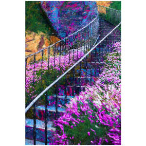 Butchart Gardens Stairway (Vancouver Island, BC)