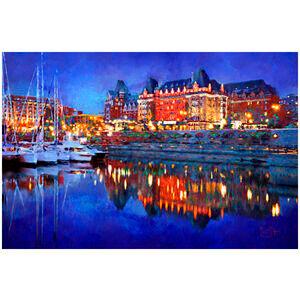 Empress Hotel At Night (Victoria, BC)