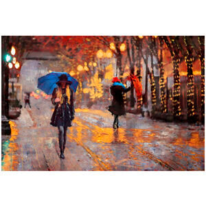 City Rain Walk