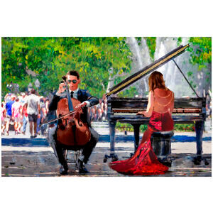 Classical Street Performance