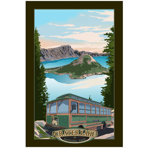 Crater Lake National Park Trolley