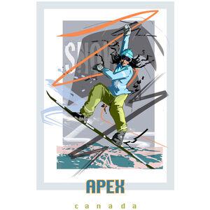 Apex Canada Snowboarder