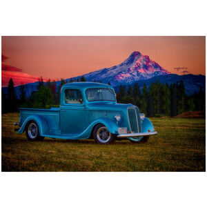 1937 FORD PICKUP Hood River Oregon