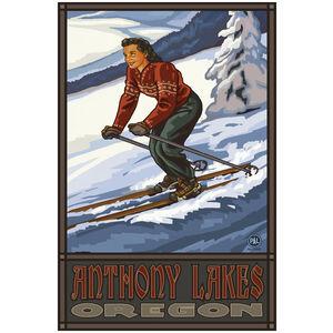 Anthony Lakes Oregon Skier