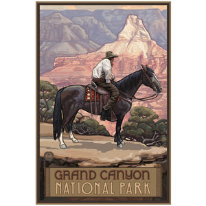 Grand Canyon National Park Cowboy