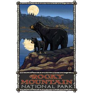 Rocky Mountain National Park Bear Lake Moon