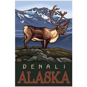 Denali Alaska Caribou