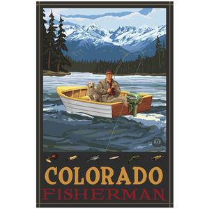 Colorado Fisherman In Boat