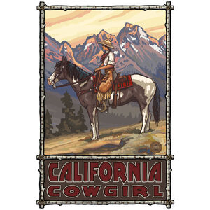 California Cowgirl Lady Ranch Hand