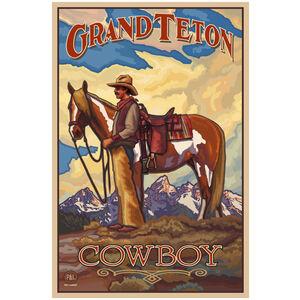 Grand Teton National Park Cowboy