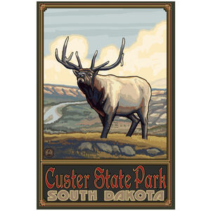 Custer State Park South Dakota Whistling Elk Plains