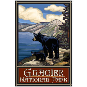 Glacier National Park Lake Bears