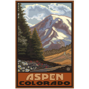 Aspen Colorado Springtime Mountains