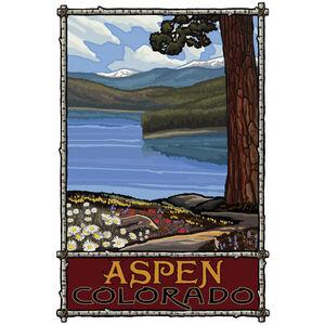 Aspen Colorado Lake Trails Mountains