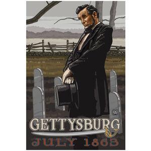 Gettysburg Civil War Lincoln Cemetery