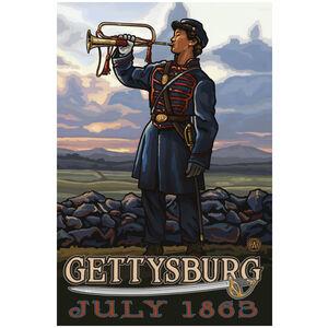 Gettysburg Civil War Bugler