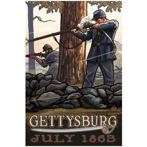 Gettysburg Civil War Riflemen