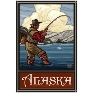 Alaska Lake Fisherman