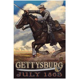 Gettysburg Civil War Horse Charge