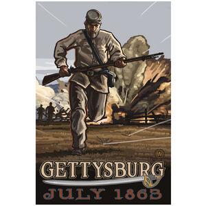Gettysburg Civil War Calvary Charge