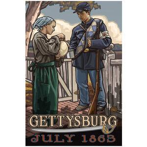 Gettysburg Civil War Soldier Drink