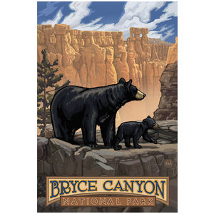 Bryce Canyon Black Bears