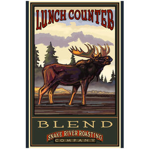 Lunch Counter Blend Giclee Art Print Poster by Paul A. Lanquist