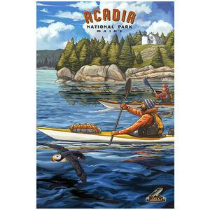 Kayak Acadia National Park, Maine