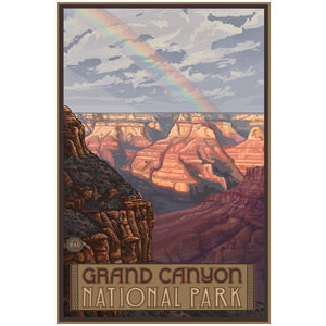 Grand Canyon National Park Rainbow