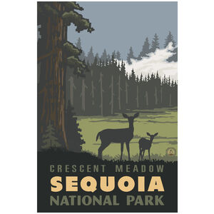 Sequoia National Park Crescent Meadow