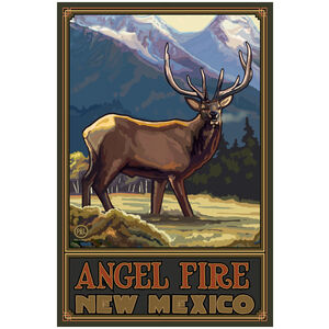 Angel Fire New Mexico Elk Mountains