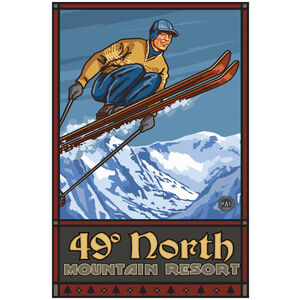 49 Degrees North Resort Skier Wenatchee Washington
