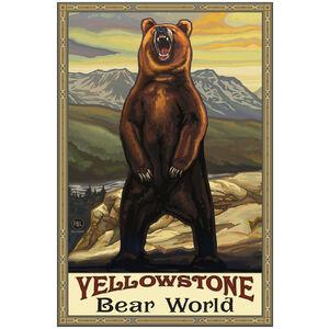 Yellowstone Bear World Grizzly Bear Yellow