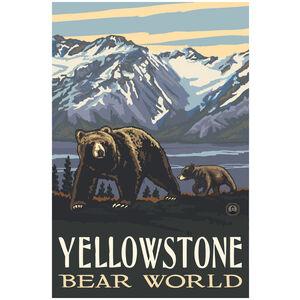 Yellowstone Bear World Grizzly & Cub