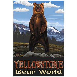 Yellowstone Bear World Grizzly Bear Standing