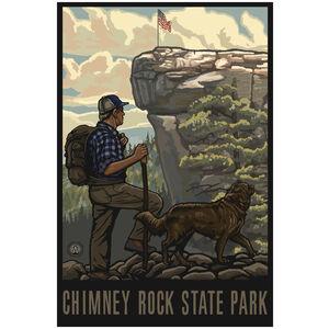 Chimney Rock State Park Hiker 1