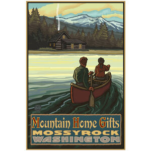 Mtn Home Gifts Giclee Art Print Poster by Paul A. Lanquist