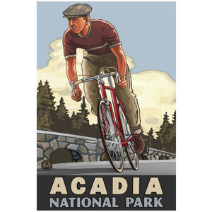Acadia National Park Downhill Biker Flat