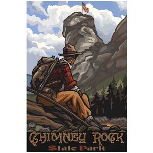 Chimney Rock State Park Hiker 2