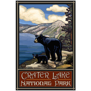 Crater Lake National Park Lake Bears