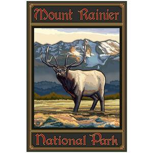 Mount Rainier National Park Whistling Elk
