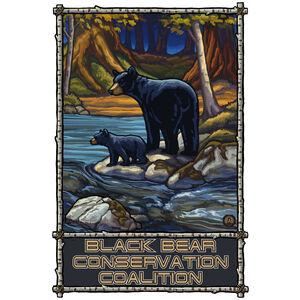 Black Bear Coalition Giclee Art Print Poster by Paul A. Lanquist