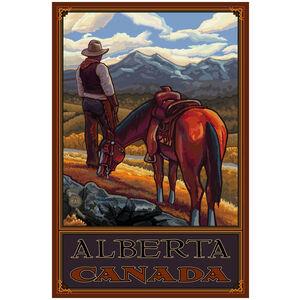 Alberta Canada Cowboy On Range