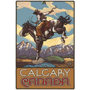 Calgary Canada Bucking Horse Cowboy