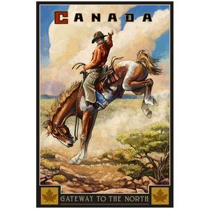 Canada Bucking Cowboy